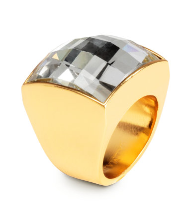 Signet Ring wih a Glass Bead Rp249,900