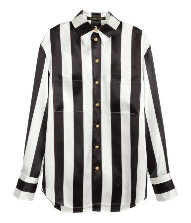 Striped Silk Blouse Rp899,900