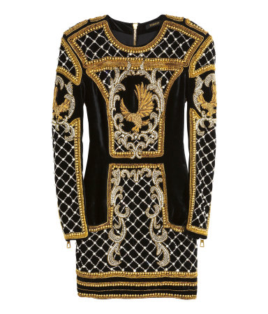 Beaded Velvet Dress Rp6,999,000